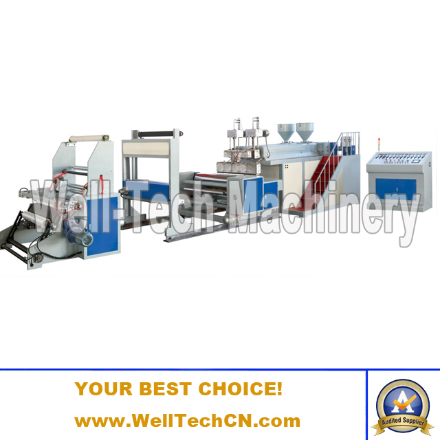 WT-2LB1000 Stretch Film Double-layer Co-extruding Machine