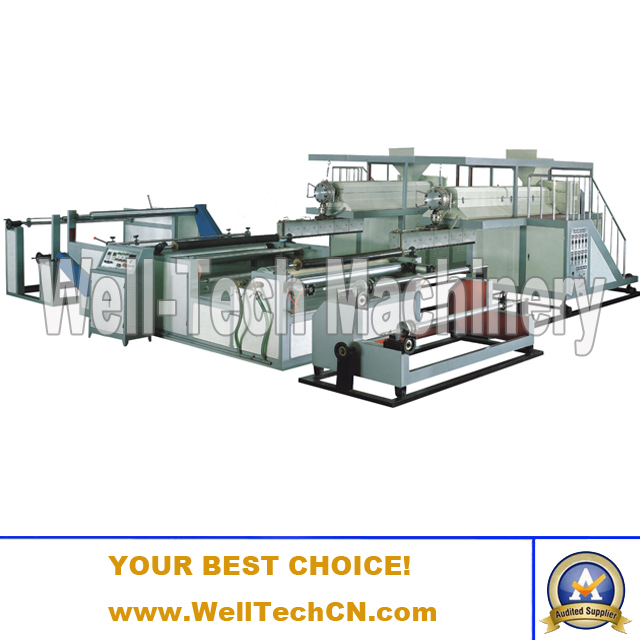 WTPEG-1000-2500 Series The Compound Polyethylene Bubble Film Making Machine