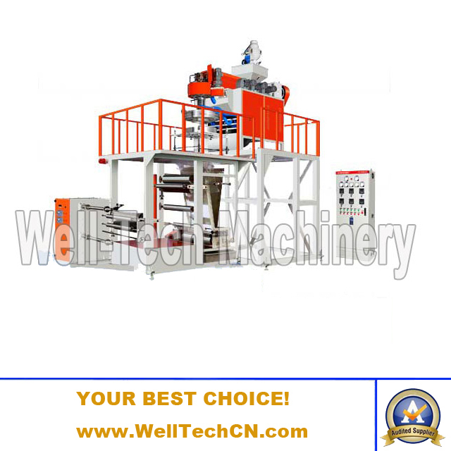 WT-PP-A45, 50, 55 PP Film Blowing Machine (Simple Structure)