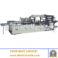 WTFB-B700-1300 Special-shape Bag Making Machine (for Making Fresh Flower Bags or Sleeves)