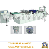 WTGB-600 Plastic Grape Packing Bag Making Machine (Special-shaped Bags Making Machine)