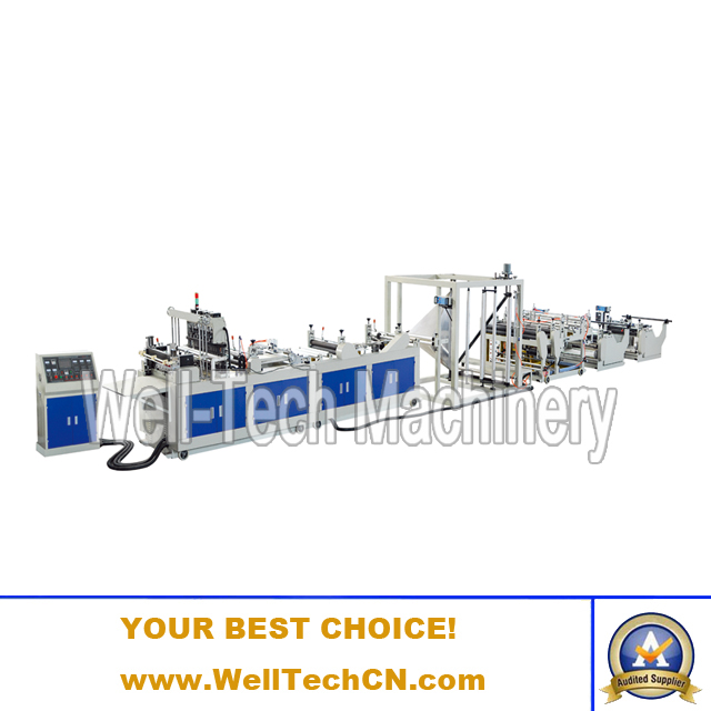 WTNB-A1200, 1400, 1600 Multi-functional Non-woven Fabric Bag Making Machine