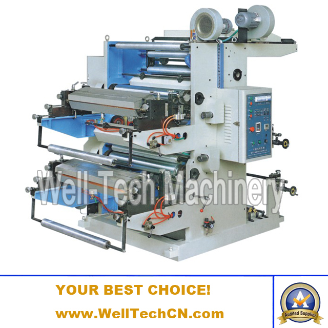 WT-A2600, 2800, 21000, 21200 Two-color Flexographic Printing Machine