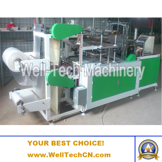 WT-GM-B500 Double-layer Disposable Gloves Making Machine