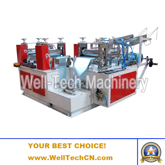 Automatic Disposable Polyethylene Plastic Shoe Cover Making Machine