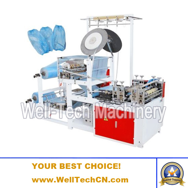 Polyethylene Film and Non-woven Fabric Sleeve Cover Making Machine