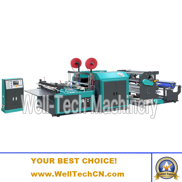 WTNB-CS800, 1000, 1200 Non-woven Fabric Cutting with Handle Sealing Machine