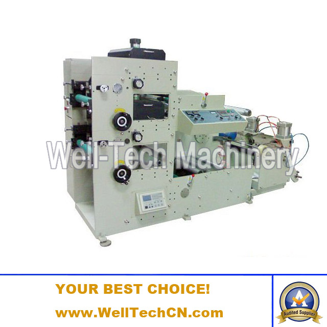 WT-320A-2C Two Colors Label Flexographic Printing Machine
