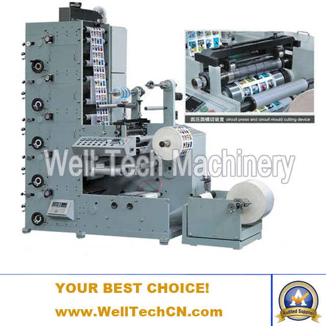 WT-320A-5C Automatic Flexographic Label Printing Machine